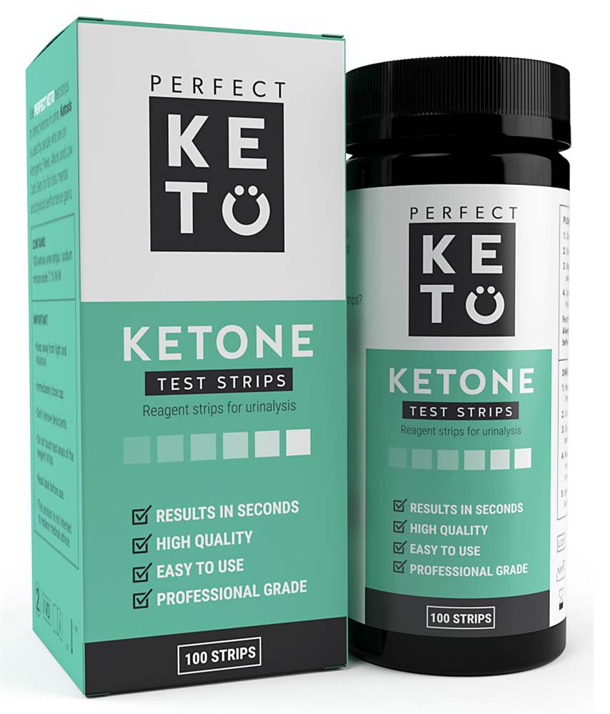 Ketone Test Strips - 100 Strip (s)
