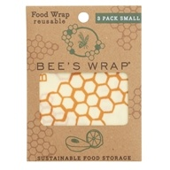 Reusable Food Wraps Small - 3 Pack by Bee's Wrap