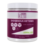 Kiss My Keto - Exogenous Ketones with Electrolytes Powder Lemon Lime - 12.5 oz.