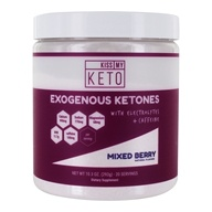 Kiss My Keto - Exogenous Ketones with Electrolytes and Caffeine Powder Mixed Berry - 12.5 oz.