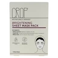 Brightening Facial Sheet Mask Pack - 5 Count