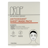 Antioxidant Facial Sheet Mask Pack - 5 Count