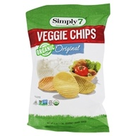 Organic Veggie Chips Original - 4 oz. by Simply 7