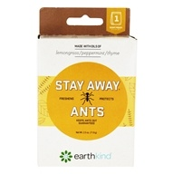 Stay Away Ants Essential Oil Insect Repellent Pouch - 2.5 oz. by Earth Kind