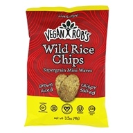 Wild Rice Chips Supergrain Mini Waves - 3.5 oz.