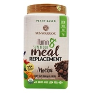 Illumin8 Superfood Plant-Based Meal Replacement Powder Mocha - 1.76 lb.