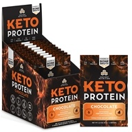 Keto Protein Ketogenic Performance Fuel Powder Chocolate - 15 Packet(s)