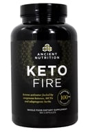 Keto Fire Ketone Activator - 180 Capsules by Ancient Nutrition