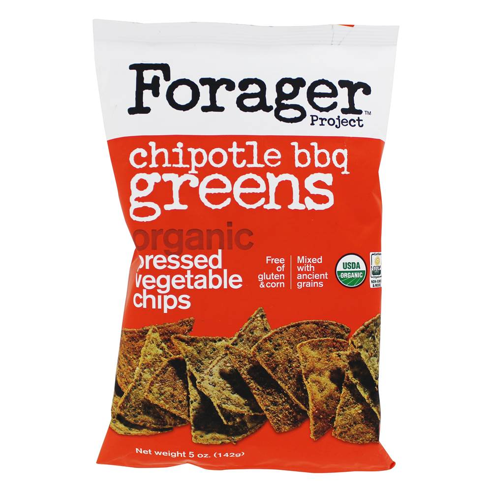 Organic Pressed Vegetable Chips Chipotle BBQ - 5 oz.