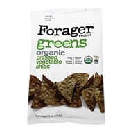 Organic Vegetable Chips Greens - 5 oz. by Forager