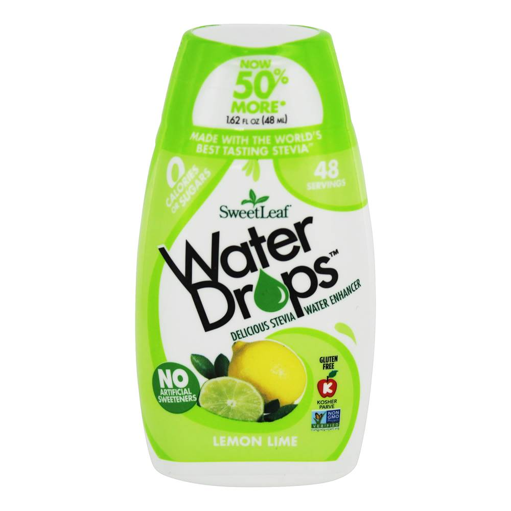 Gouttes d'eau Stevia Water Enhancer Citron Lime - 1.62 fl. oz. by SweetLeaf