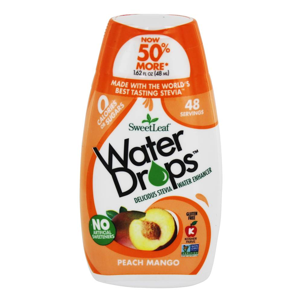 Gouttes d'eau Stevia Water Enhancer Peach Mango - 1.62 fl. oz. by SweetLeaf