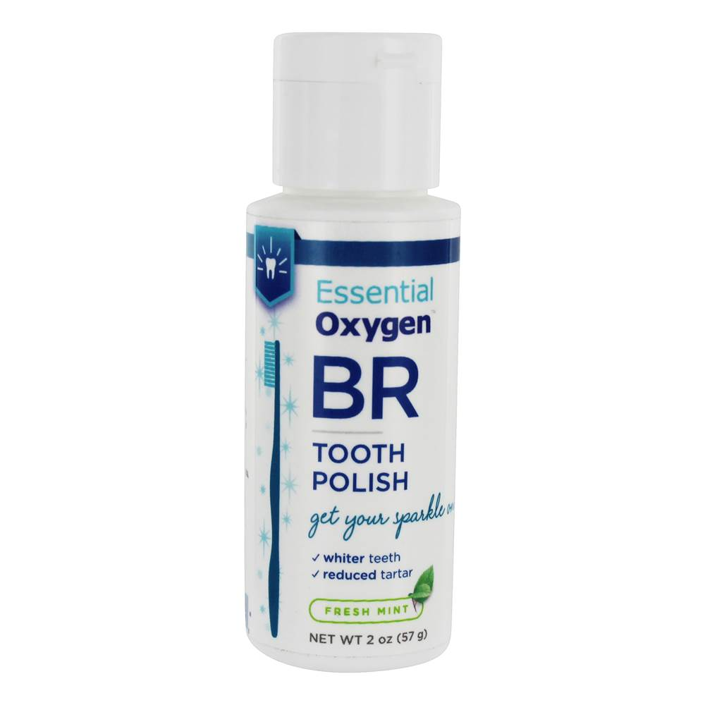 BR Tooth Polish Fresh Mint - 2 oz.