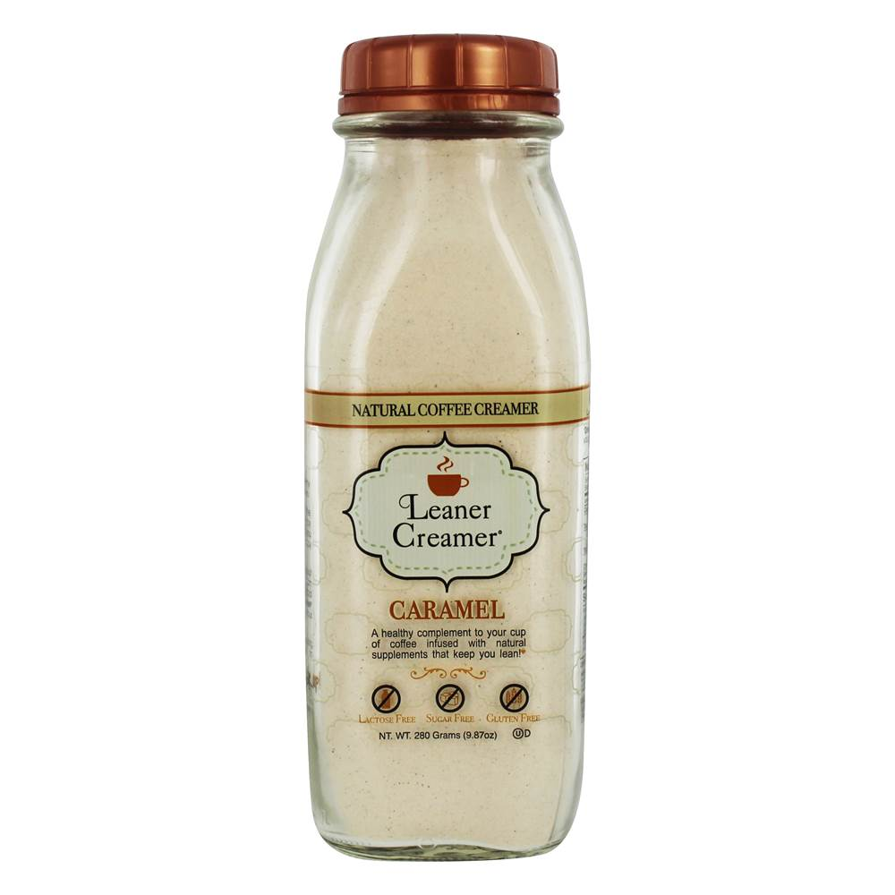 Leaner Creamer - All Natural Powdered Coffee Creamer Caramel - 9.87 oz.