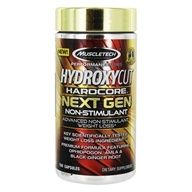 Hydroxycut Hardcore Next Gen Non-Stimulant Formula - 150 Capsules by Muscletech Products