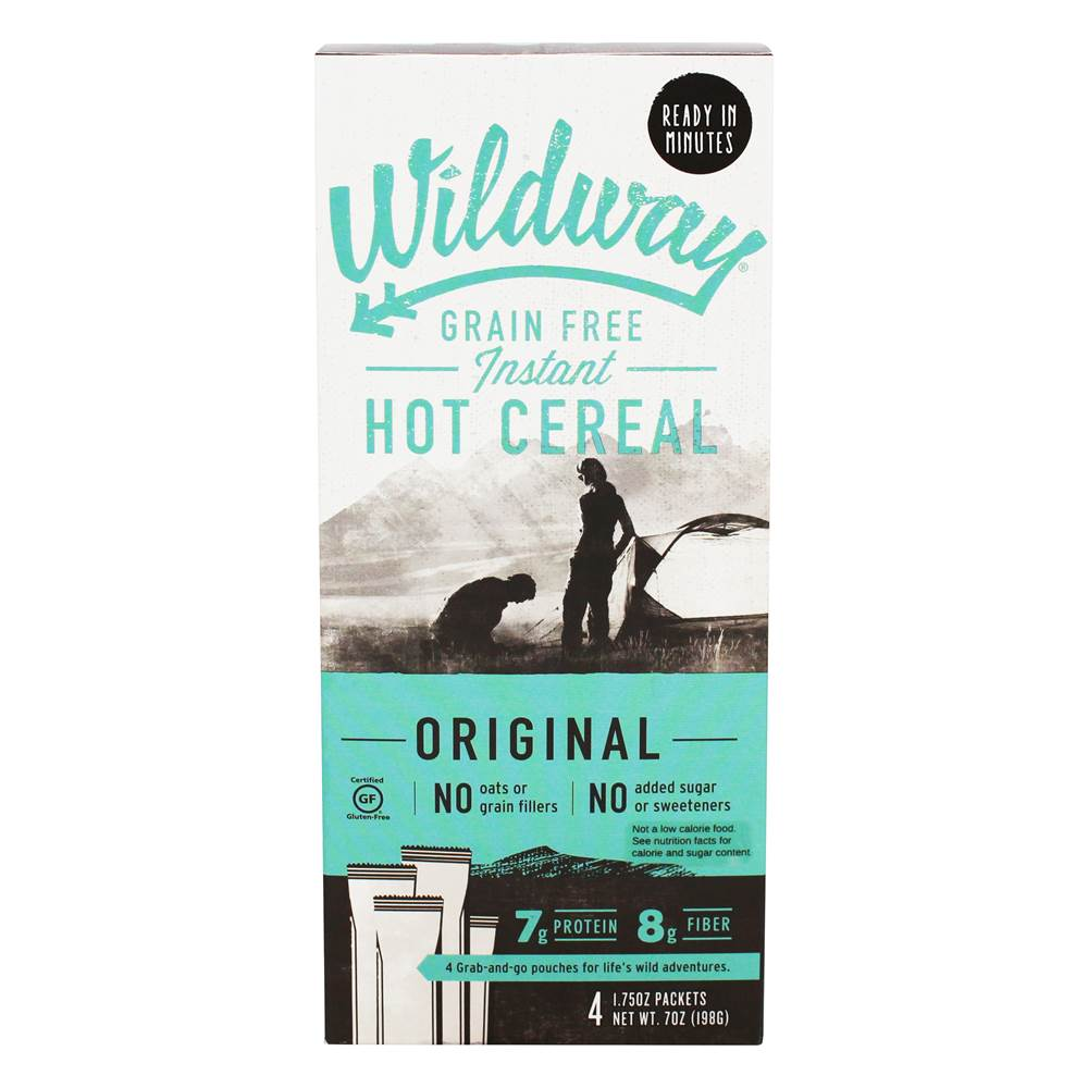 Grain Free Instant Hot Cereal Original - 4 Packet(s)