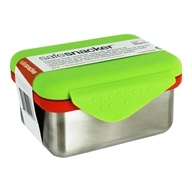 Anak Basix Aman Snacker Tahan karat Baja Lunchbox Wadah Kapur - 7 oz. by New Wave Enviro Products