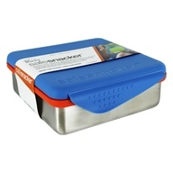 Kid Basix Safe Snacker Stainless Steel Lunchbox Container Blue - 23 oz.