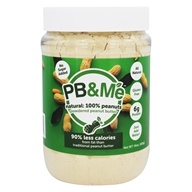 Powdered Peanut Butter No Sugar Added Natural 100% Peanuts - 16 oz.