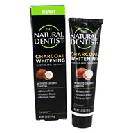 Charcoal Whitening Fluoride Free Toothpaste Cocomint - 5 oz.