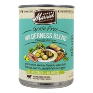 Merrick - Grain Free Canned Dog Food Wilderness Blend Classic Recipe - 12.7 oz.