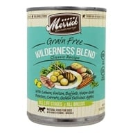 Merrick - Grain Free Canned Dog Food Wilderness Blend Classic Recipe - 13.2 oz.