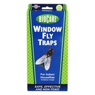 Biocare Window Fly Traps For Indoor Houseflies - 4 Trap(s) by SpringStar