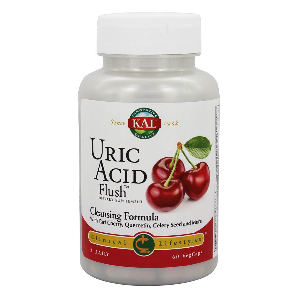 Ácido Uric Flush Clinical Lifestyles Cleansing Formula - 60 Cápsulas vegetales