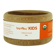 Organic Bamboo Baby's Bowl 6 Months+