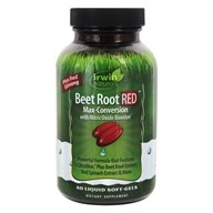 Beet Root RED Max-Conversion with Nitric Oxide Booster - 60 Liquid Softgels