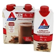 Atkins - RTD Protein-Rich Shakes Creamy Chocolate - 4 Pack