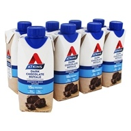 RTD Protein-Rich Shakes Value Pack Dark Chocolate Royale - 8 Pack by Atkins