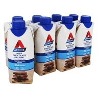 RTD Protein-Rich Shakes Value Pack Milk Chocolate Delight - 8 Pack by Atkins