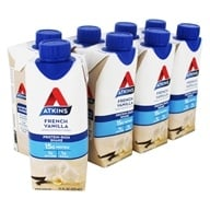RTD Protein-Rich Shakes Value Pack French Vanilla - 8 Pack by Atkins
