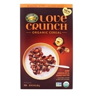 Love Crunch Organic Cereal Dark Chocolate & Peanut Butter - 10 oz. by Nature's Path Organic