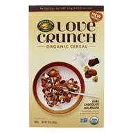 Love Crunch Organic Cereal Dark Chocolate Macaroon - 10 oz. by Nature's Path Organic