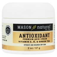 Mason Natural - Antioxidant Beauty Cream with Vitamin C, E and Green Tea - 2 oz.
