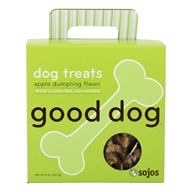 Sojos - 100% Natural Good Dog Treats Apple Dumpling Flavor - 8 oz.