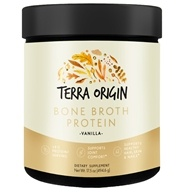 Terra Origin - Bone Broth Protein Powder Vanilla - 17.5 oz.