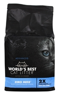 Advanced Zero Mess Litter Unscented - 6 lbs. by World's Best Cat Litter