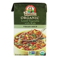 Organic Lentil Vegetable with Kale Soup - 18 oz.