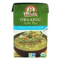 Organic Split Pea Lower Sodium Soup - 17.6 oz.