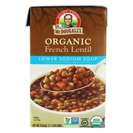 Organic French Lentil Lower Sodium Soup - 17.6 oz.