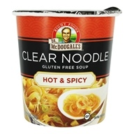 Gluten Free Clear Noodle Soup Hot & Spicy - 1 oz.