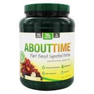 About Time - Plant Based Superfood Protein Powder Vanilla - 1.26 lbs.