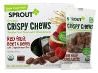 Organic Crispy Chews Beet & Berry with Crispy Brown Rice - 5 Packet(s) by Sprout