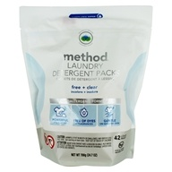 Method - Laundry Detergent Packs 42 Loads Free + Clear - 42 Pack