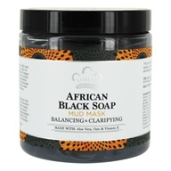 African Black Soap Facial Mud Mask Balancing & Clarifying - 6 fl. oz. by Nubian Heritage