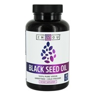 100% Pure Virgin Black Seed Oil - 60 Vegetable Liquid Capsule(s)