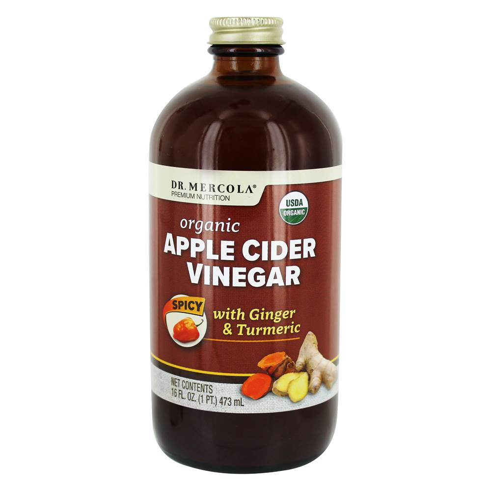 Organic Apple Cider Vinegar Spicy - 16 fl. oz.
